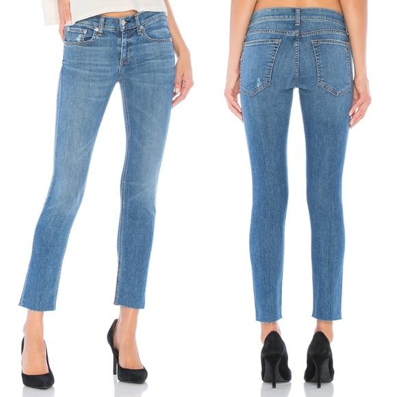 NWT Rag /& Bone women/'s jeans  Ankle Dre In Ambra $225 Size 25